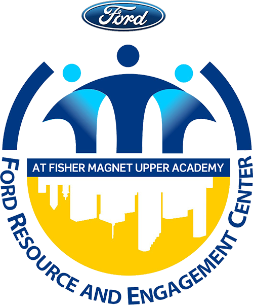 Ford Resource and Engagement Center at Fisher Magnet Upper Academy logo